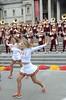 Img284835nx2 (veryamateurish) Tags: london trafalgarsquare cheerleaders band usc universityofsoutherncalifornia girl woman miniskirt