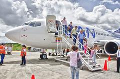 LAN COLOMBIA (SANCHEZ C) Tags: chile southamerica colombia selva lan leticia aeropuerto hdr avion amazonas suramerica aviacion aerolinea eieeb
