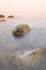 Sunset Breeze (Khaled A.K) Tags: longexposure sea seascape rock photography nikon filter photograph khaled tobacco waterscape d7000 kashkari