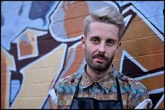 Stranger #155 - Luke (Peter Grifoni) Tags: street project nikon grafitti luke strangers australia social stranger portraiture nsw hairdresser salon 100 nikkor50mmf18 newtown studies d7000 gtpete63 gtpete wwwgtpetephotographycom petergrifoni