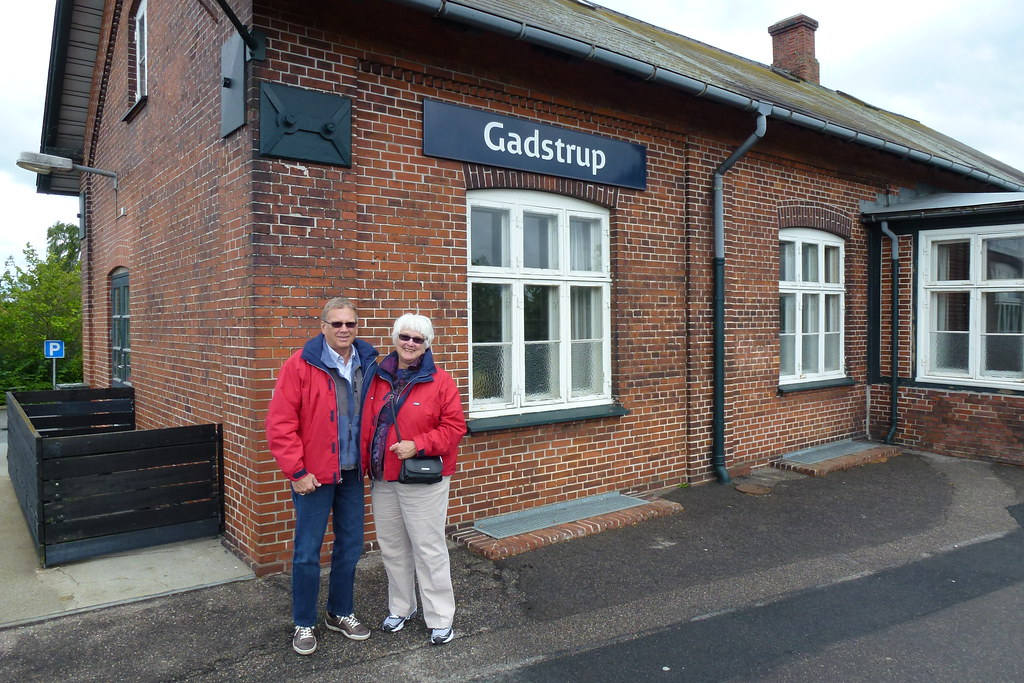 Barbara and Dennis visiting Gadstrup