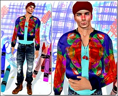Carisma Colors (Ravi Shelter) Tags: gabriel redsand drop expressiveposes purpleposes justyoujewels menonlyhunt carismacreations shapesbygia