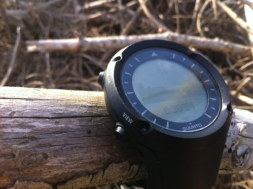 heart outdoor watch running monitor trail gps ultra rate suunto ambit