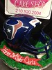 "3D Texans Helmet cake • <a style=""font-size:0.8em;"" href=""http://www.flickr.com/photos/40146061@N06/7362692806/"" target=""_blank"">View on Flickr</a>"