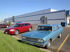 64 Chevrolet Chevelle 300 (DVS1mn) Tags: cars car station june wagon four estate north 64 nd dakota sixty nineteen 1964 stationwagon 2012 bismark estatewagon estatecar shootingbrake nineteensixtyfour longroof
