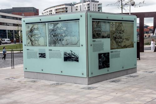 Titanic Belfast is an iconic six-floor building featuring nine interpretive galleries