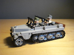 Sd.Kfz 10/1 (DutchLB.) Tags: tank 10 wwii 101 german ww2 worldwar halftrack sdkfz