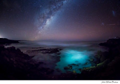 Milky Way (john white photos) Tags: sea sky night stars australia southaustralia eyrepeninsula sleafordbay