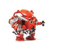 arms (The Slushey One) Tags: red one arms mecha slushey