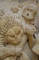 Delphi Museum (Agnieszka Eile) Tags: sculpture museum europe delphi relief greece antiquity