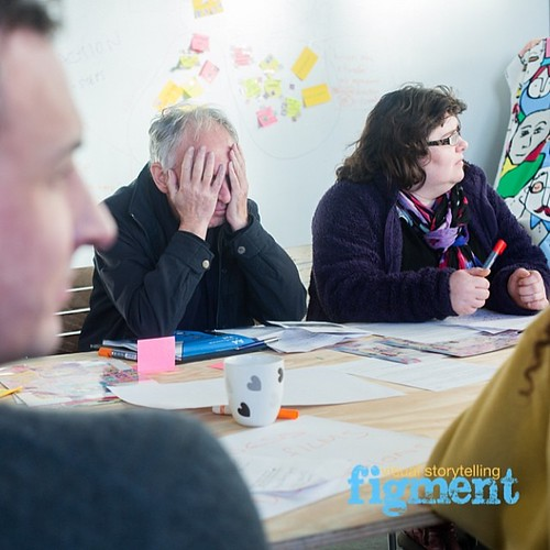 He's actually trying to prevent ideas spilling from his eyeballs we r that good…@theideashubchelmsford #figmentmedia #photojournalism #funnyhubphotos #visualstorytelling @Creatocracy Sx