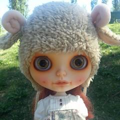 Matilda en el parque