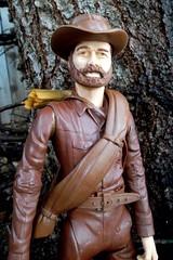Wagon Master Jedediah West (atjoe1972) Tags: santafe wagon toys actionfigure cowboy trail marx 1960s 1970s custom pioneer wildwest frontier oldwest johnnywest atjoe1972 jedediahwest