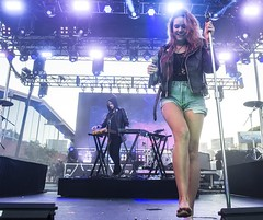 Tove Lo 120 (barefootmusicians) Tags: musician feet concert live stage performance barefoot singer performs