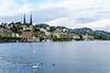 DSC01038 (photobillyli) Tags: luzern switzerland 瑞士 europe 歐洲 琉森 lucerne chapelbridge kapellbrucke 卡佩爾教堂橋 羅伊斯河 riverreuss 水塔 watertower