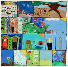 Lewis and Clark Elementary School, Ruther Glen, VA (International Fiber Collaborative, Inc.) Tags: christmas family school trees people mountain newyork green art home water nova animal glitter kids trash stars religious washington community war paint peace kentucky space flag unitedstatesofamerica group cancer conservation diversity astronaut felt save aliens nasa clean explore health environment leader twintowers express olympic agriculture racism elementary planting abuse humans equality global facebook discover intolerance saturnvrocket presidentobama internationalfibercollaborative thedreamrocket