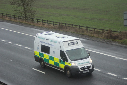 M9 SF11 NLX PEUGEOT BOXER SCOTTISH AMBULANCE SERVICE