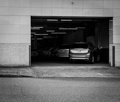 Volvo Dealership (pillarsoflight) Tags: blackandwhite bw monochrome beauty oregon 35mm portland prime aperture nikon adobe pdx desaturated 18 pnw lightroom d3300