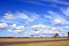 DSC_0912 (LoxPix2) Tags: clouds vintage landscape airport aircraft australia queensland nomad caribou oakey loxpix australianarmyflyingmuseum