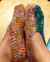 Yarn (florayah) Tags: crochet yarn slippers nanaslippers