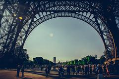Tour Eiffel 1 (fabiopaivareis) Tags: paris france honeymoon eiffeltower frana toureiffel torreeiffel luademel