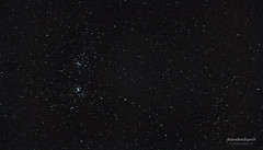 Perseus Double Cluster (AstroBackyard) Tags: stars cluster ngc double astrophotography perseus constellation 869 884