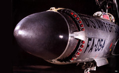 1950 ...  F-94 Starfire-nose w rockets (x-ray delta one) Tags: propaganda aircraft sac nuclear atomic populuxe aerospace atomicbomb airtoair strategicaircommand worldwar3 hydrogenbomb kiloton departmentenergy nucleardeterent atomicannihilation atomicairplane jamesvaughanphoto