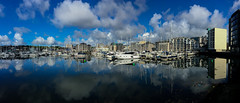 Project 366 - 22nd May 2016 (Rich Walker75) Tags: uk blue england sky cloud water clouds landscape boats boat harbour yacht plymouth devon yachts westcountry