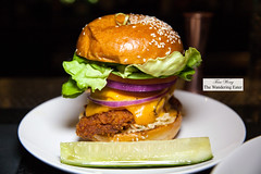 Potato Chip Crusted Fried Chicken Sandwich (thewanderingeater) Tags: nyc manhattan lowereastside theburgary