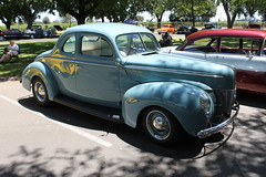 1940's Ford Deluxe Coupe (eagle69er) Tags: show car grove micke 2016