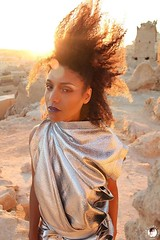 Sky's the limit... #loveyourmane http://bit.ly/siwa-shali (THE GLOBAL GIRL) Tags: globalgirl globalgirlndoema egypt siwaoasis desert africa northafrica libyandesert siwa libya oasis theglobalgirlcom travel wanderlust theglobalgirl model silver metallic silverdress fashion style ndoema sahara beauty naturalhair celebritystyle celebritybeauty