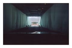 BWBC II (Baipin) Tags: street camera leica bridge blue canada reflection film water composition port 35mm lens drive us shoot cosina voigtlander border central wide center cover unite land sheet urine ultrawide f4 huron 25mm bipin iiic