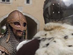 Mittelalterfest in Saint-Ursanne (bolliger51) Tags: tradition fest helm ritter geschichte rstung mittelalter brauchtum kostm mittelalterfest verkleidung stursanne kettenhemd saintursanne maskierung