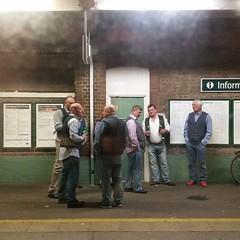 20160318_192921 (Eleanorb photos) Tags: men station phone urbanscene