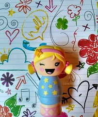 Big Smiles! It's Friday!!! (Lawdeda ) Tags: canada happy doll long day 1st weekend 4th july mini friday girlz moxie woot winking winks 2016