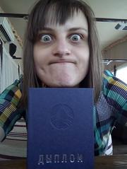 ? (xaskixarf) Tags: me university diploma graduating