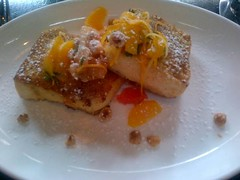 Hazelnut Crusted French Toast with Sicilian Citrus Salad, Locanda Verde (cristinaromano) Tags: frenchtoast brunch hazelnut citrussalad locandaverde hazelnutcrustedfrenchtoastwithsiciliancitrussalad hazelnutcrustedfrenchtoast siciliancitrussalad