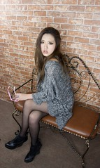 _DSC0346 (rickytanghkg) Tags: portrait woman sexy girl lady female studio asian model pretty sony chinese young picnik a550