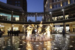 City Creek Center fire fountain