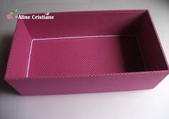 Caixa Lingerie - Lilás (Line Artesanatos) Tags: lingerie caixa lilás espartilho patchworkembutido