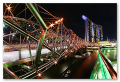 The Helix Bridge Experience - Uniquely Exciting & Different (dnstdavid) Tags: singapore marinabay helixbridge marinabaysands davidngsoonthong