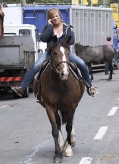 Ya........whaaaaaaa? (Frank Fullard) Tags: street ireland portrait horse mobile phone candid cork cell fair jockey fullard cahirmee buttevant frankfullard