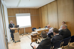 A presentation underway on Day 1 at the Congress Center Leipzig