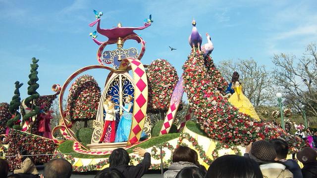 ディズニーランドのパレード04
