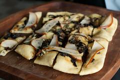 Appetizer (mcknp) Tags: seattle blue food cheese pizza pear onion appetizer