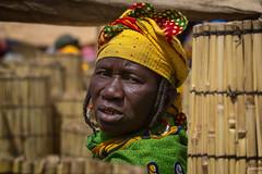 Portrait of a Woman of ethnic Fulani to the market of Gorom Gorom, Sahel, northern Burkina Faso (anthony pappone photography) Tags: africa portrait people canon market westafrica tribes afrika earrings bella ethnic ritratto burkina burkinafaso afrique fulani goromgorom sahel tribu  peul etnia bororo orecchini    burkinabe africantribe  pehul