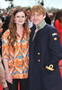 Bonnie Wright and Rupert Grint The worldwide Grand Opening event for the Warner Bros. Studio Tour London 'The Making of Harry Potter' held at Leavesden Studios London, England