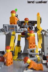 Land Walker (IcedPlusCoffee) Tags: robot lego hard suit walker land mecha mech moc powerloader hardsuit