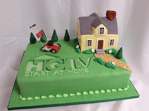 HGTV lawn cake