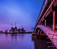 POWER DAWN (wilsonaxpe) Tags: longexposure london thames dawn battersea riverthames pimlico batterseapowerstation wilsonaxpe